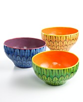 Colorful bowls from haiti