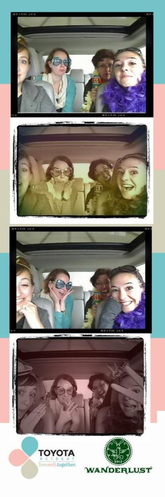 Toyota photobooth shots
