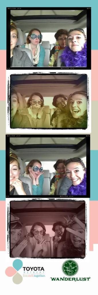 Toyota photobooth shots